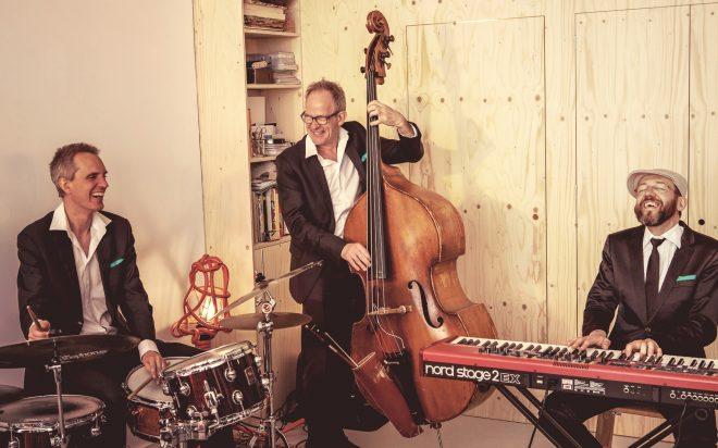 Jazzband op een bruiloft